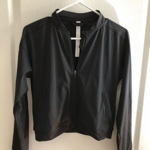 Lululemon Black Crop Jacket, Size 4